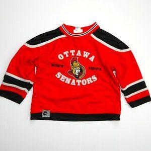 Mighty Mac Ottawa Senators Boys 3T 3X Jersey NHL
